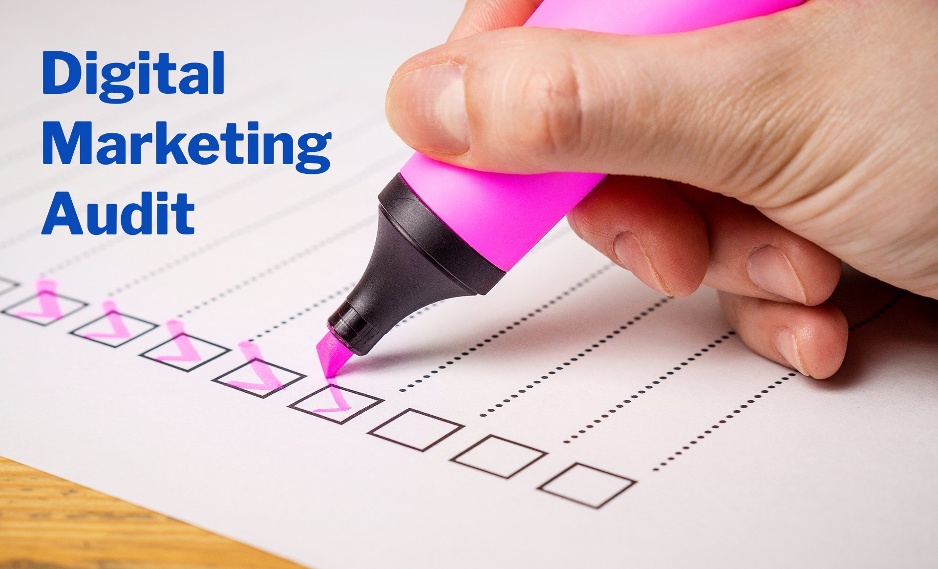 How to audit digital marketing efforts